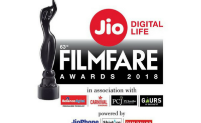 Filmfare Nominations 2018