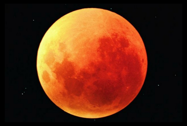 Total Lunar Eclipse, Blue Moon, Supermoon, Together