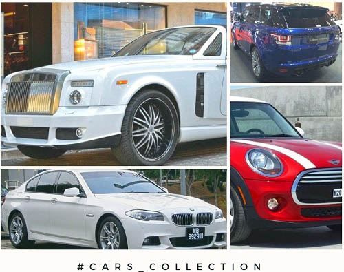Aayush Sharma Cars Collection