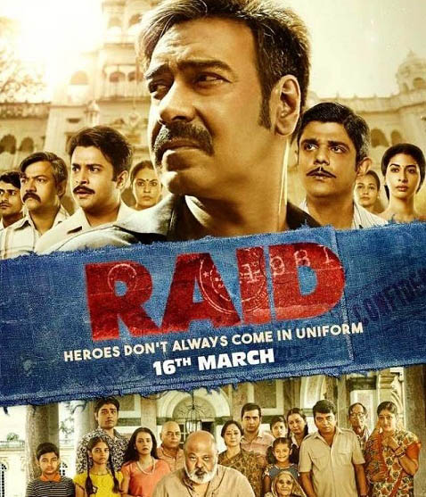Top 10 Best Bollywood Movies of 2018 Raid